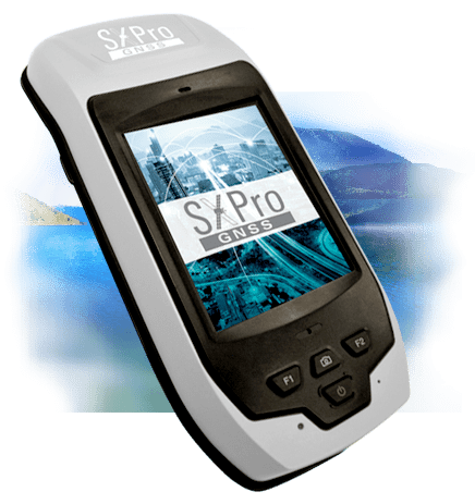 SXPro GNSS GIS Satellite Receiver and Data Collection Handheld