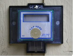 VL-9 Remote Water Meter Reader LCD Display for Encoded Output Meters