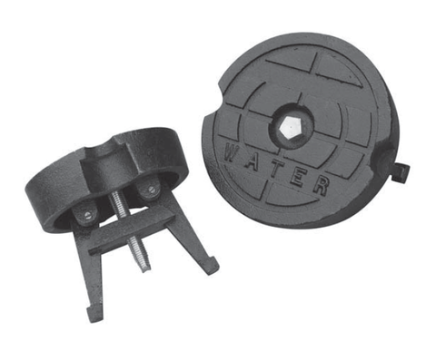 Locking Cast Iron Valve Box Lids For Water Main Valves