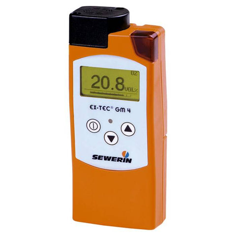 EX-TEC GM 4 - Gas warning and gas measuring instrument for detecting toxic and flammable gases and oxygen