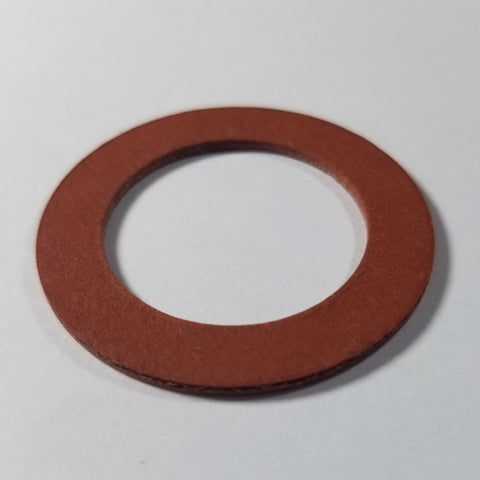 "1"" Hard FIBER Water Meter Gaskets, for 1"" meter, 1/8"", 1/16"" or 1/32"" thickness"