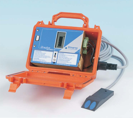 Micronics Ultrasonic Portable Level Velocity flow meter For Non-full Pipe
