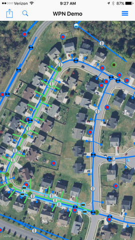 64 Seconds WaterPoint Network - iPad or iPhone based GIS and
