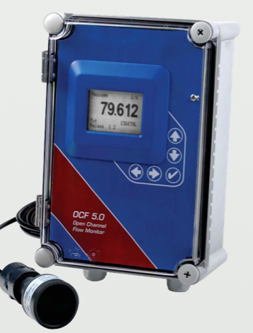 Micronics Ultraflo OC5000 Open Channel Flow Meter For Sewer