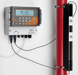 Micronics Ultraflo U4000 Ultrasonic Flow Meter - Permanent Mount with Data Logging
