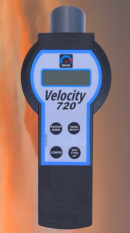 Velocity Handheld Touch Pad Visual Water Meter Reader