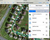 64 Seconds WaterPoint Network - iPad or iPhone based GIS and Asset Management App