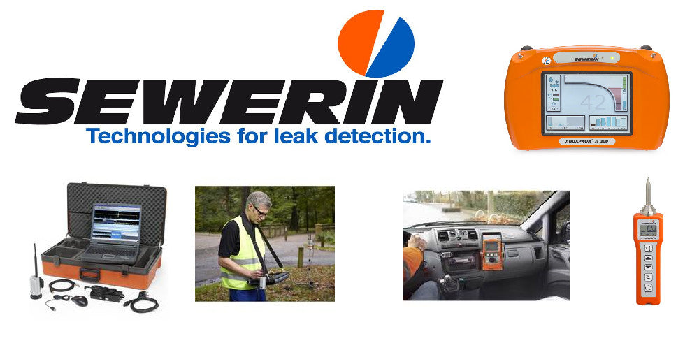Sewerin leak locating products