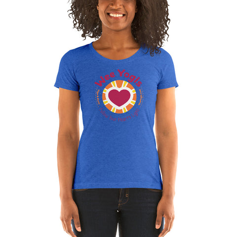 Wee Yogis Ladies' short sleeve t-shirt