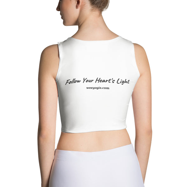 Wee yogis Sublimation Cut & Sew Crop Top