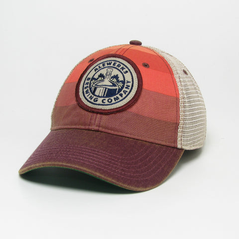 Red Stripe Trucker