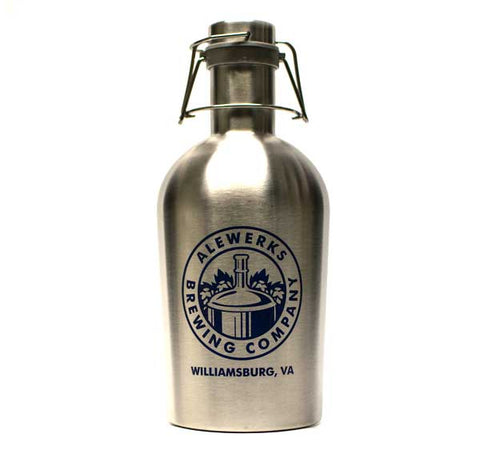 Stainless Steel Growler 64oz.