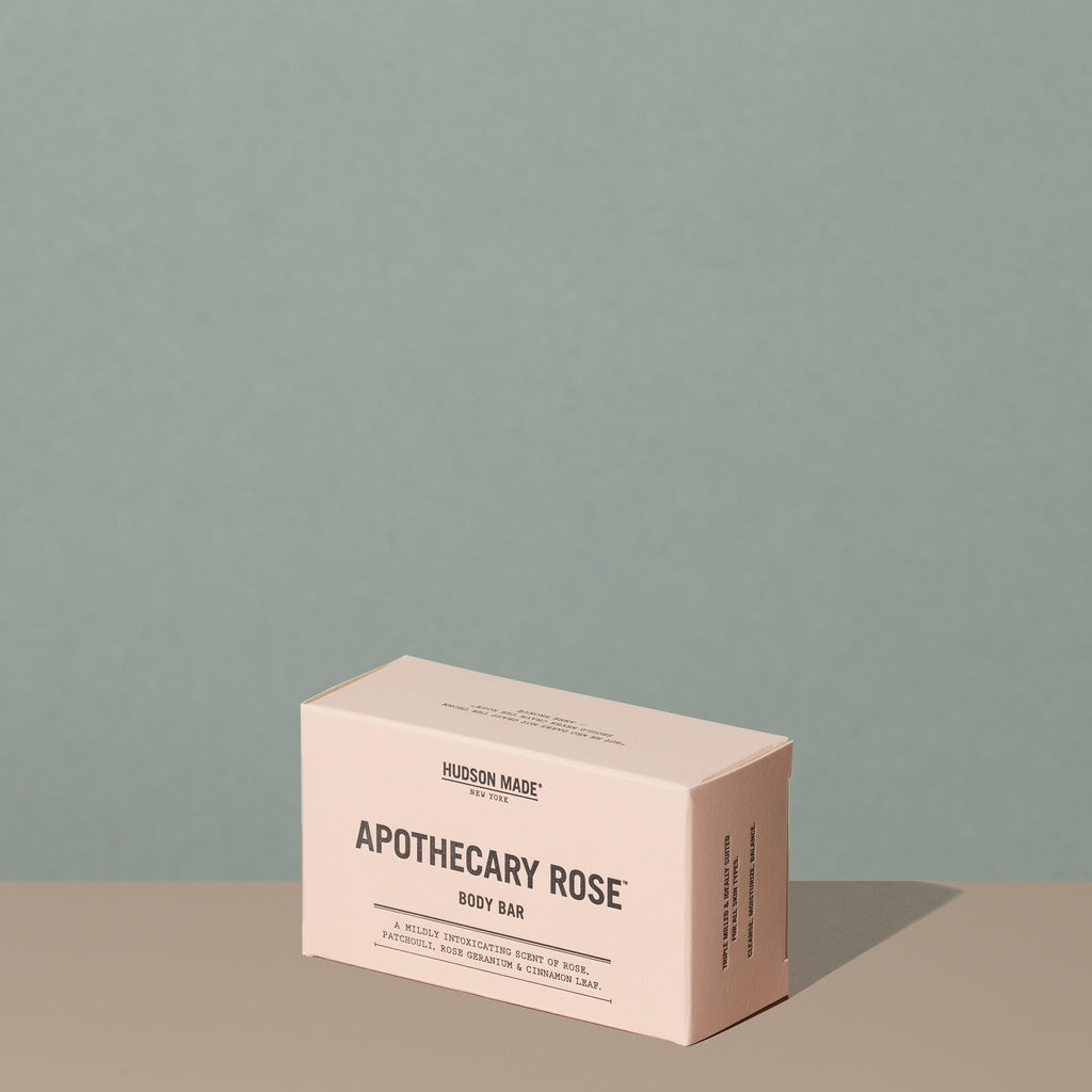Hudson Made Apothecary Rose Body Soap