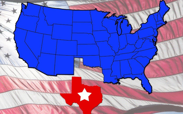 Secede peacefully from the United States