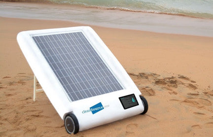 Desolenator: Creating clean water from saltwater using sunlight