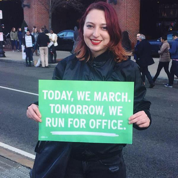 Today We March
