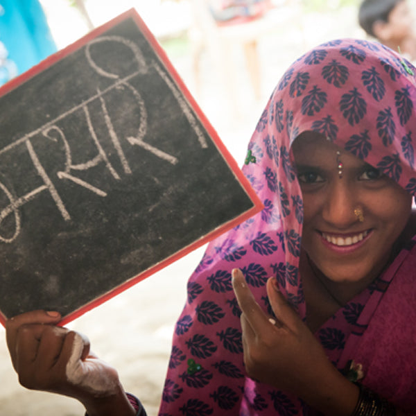 TARA Akshar+: Increasing literacy rates among women in India