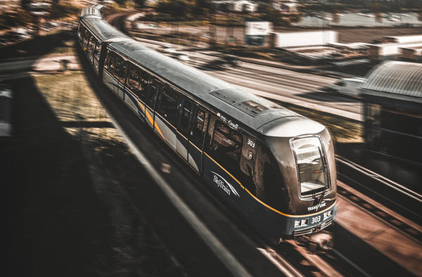 Fund a 40-mile extension of public rail services in California to increase public transportation