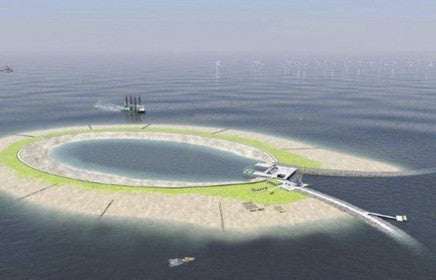 DNV GL: Artificial island as storage for renewable energy
