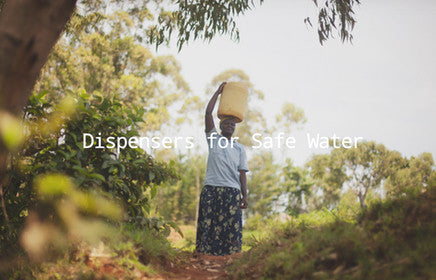 Evidence Action: Dispensers for safe water in rural and poor areas
