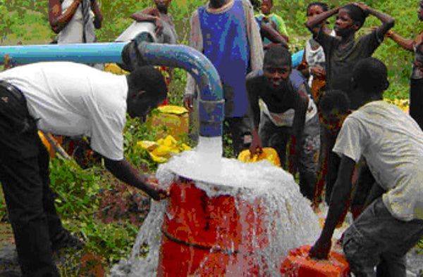Build 125,000 water wells in Africa; each well providing clean water for 2,000 people