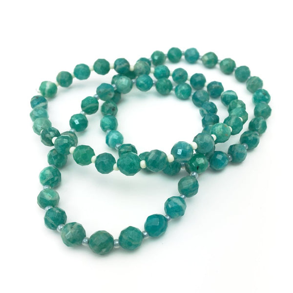 Earth Collection Amazonite Stretch Bracelet