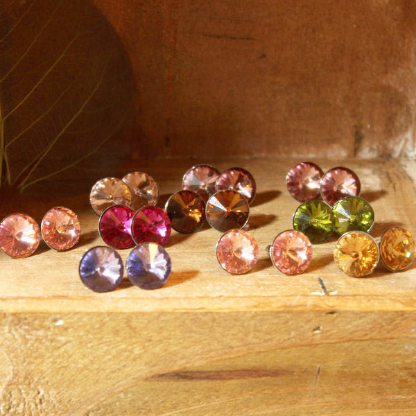 Fire Collection Swarovski Earrings