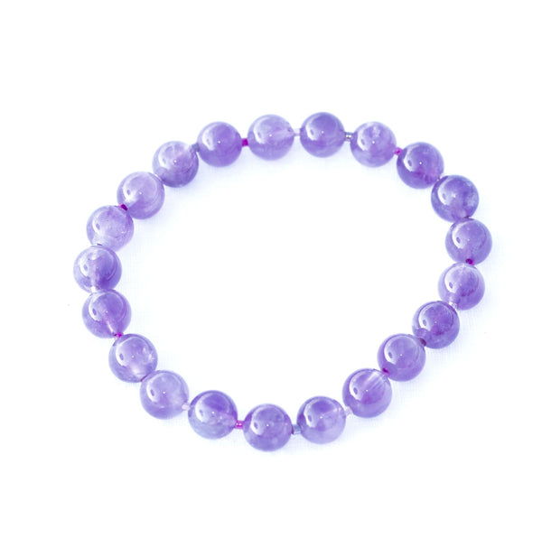 Earth Collection Amethyst Stretch Bracelet