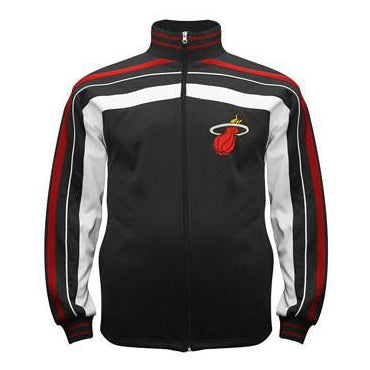 Majestic Miami HEAT Big and Tall Trip Jacket