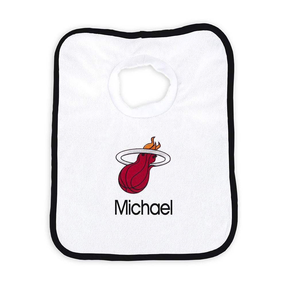 Designs by Chad and Jake Miami HEAT Custom Infant Pullover Bib - featured image