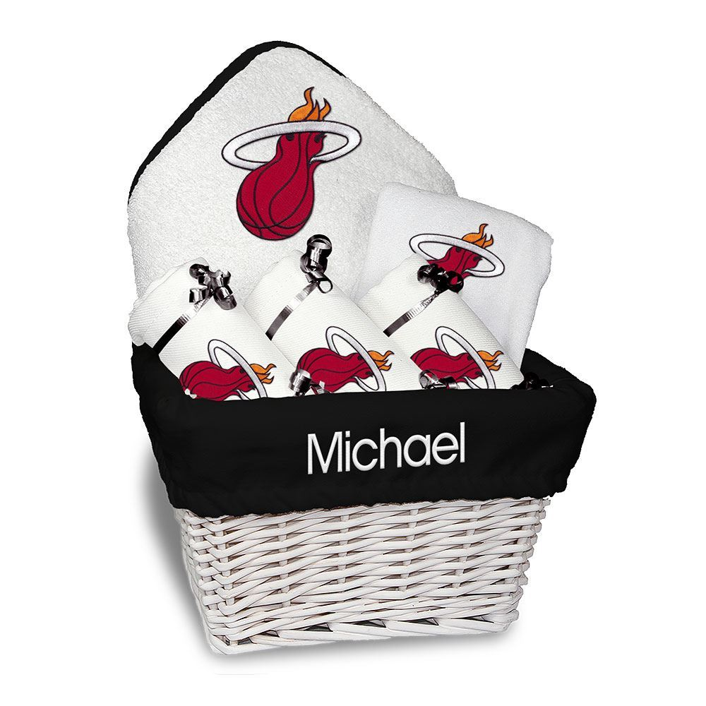 Designs by Chad and Jake Miami HEAT Custom Infant Medium Basket - featured image