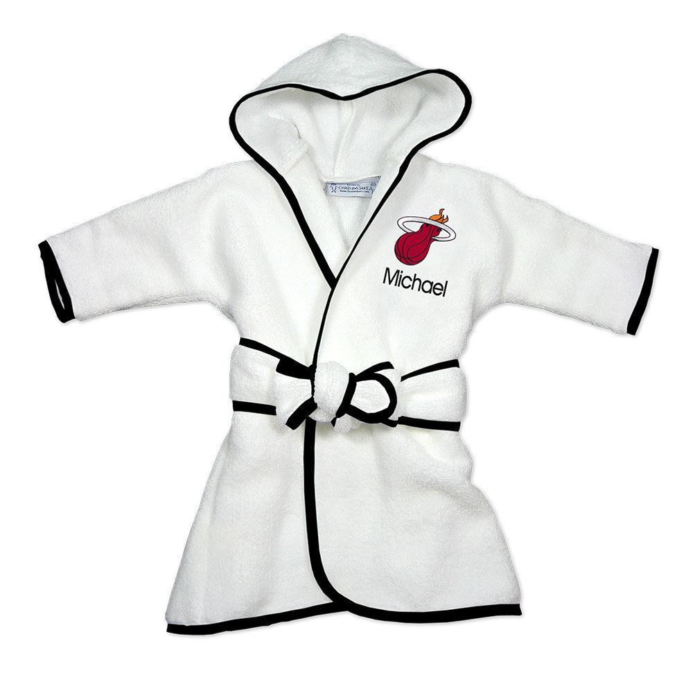 Designs by Chad and Jake Miami HEAT Custom Infant Robe - featured image