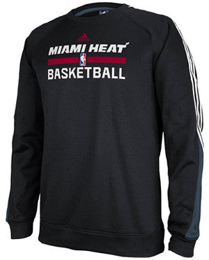 adidas Miami HEAT On-Court 2013 Practice Crew