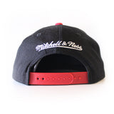 Mitchell and Ness Miami HEAT XL Two Tone Snapback - 2