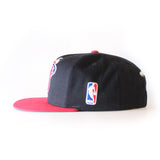 Mitchell and Ness Miami HEAT XL Two Tone Snapback - 3