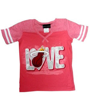 5th and Ocean Miami HEAT Girls Love T-Shirt