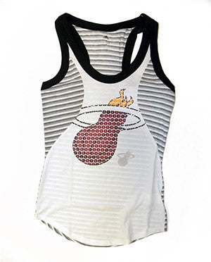 adidas Miami HEAT Ladies Racer Tank