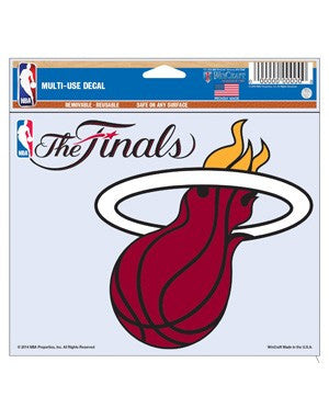 Wincraft Miami HEAT 2014 NBA Finals Decal