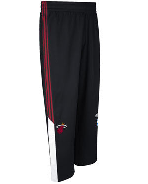 adidas Miami Heat Black 2014 Youth On-Court Pants