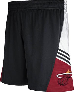 adidas Miami HEAT On-Court Pre Game Shorts