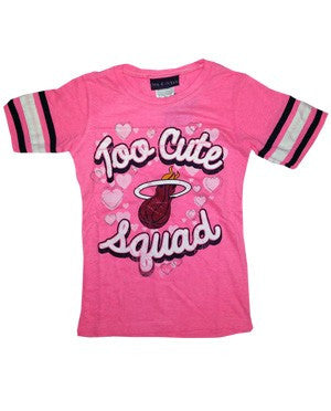 5th and Ocean Miami HEAT Girls Too Cute Squad T-Shirt
