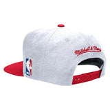 Mitchell and Ness Miami HEAT XL Two Tone Snapback - 6