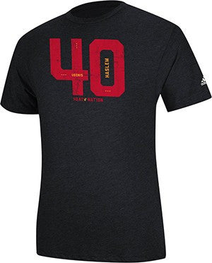 Udonis Haslem Miami HEAT adidas HEAT Nation Name and Number T-Shirt - featured image