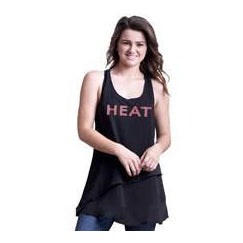 Miss Fanatic Miami HEAT Ladies Angel Face Tank - featured image