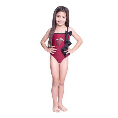 Miss Fanatic Miami HEAT Girls Dolled Up Swimsuit