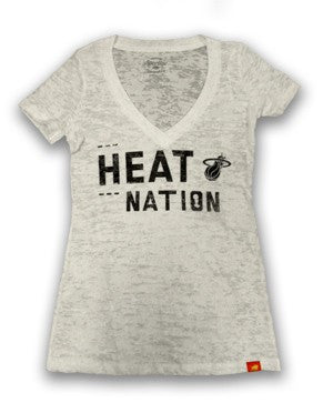 Sportiqe Miami HEAT Ladies HEAT Nation T-Shirt - featured image