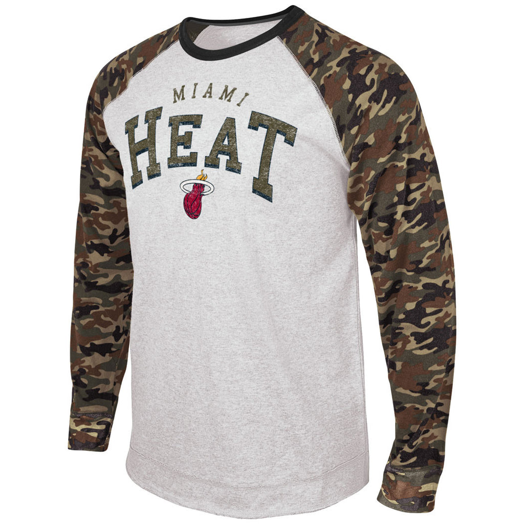 G-III Miami HEAT Camo Jersey Top