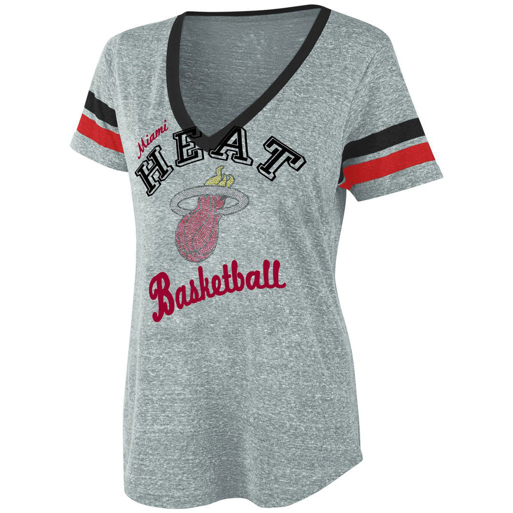 G-III Miami HEAT Ladies Run T-Shirt - featured image