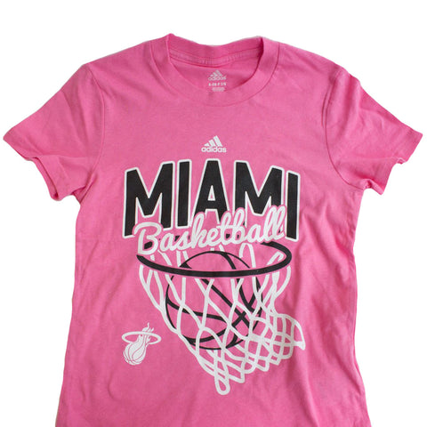 adidas Miami HEAT Girls All Net T-Shirt