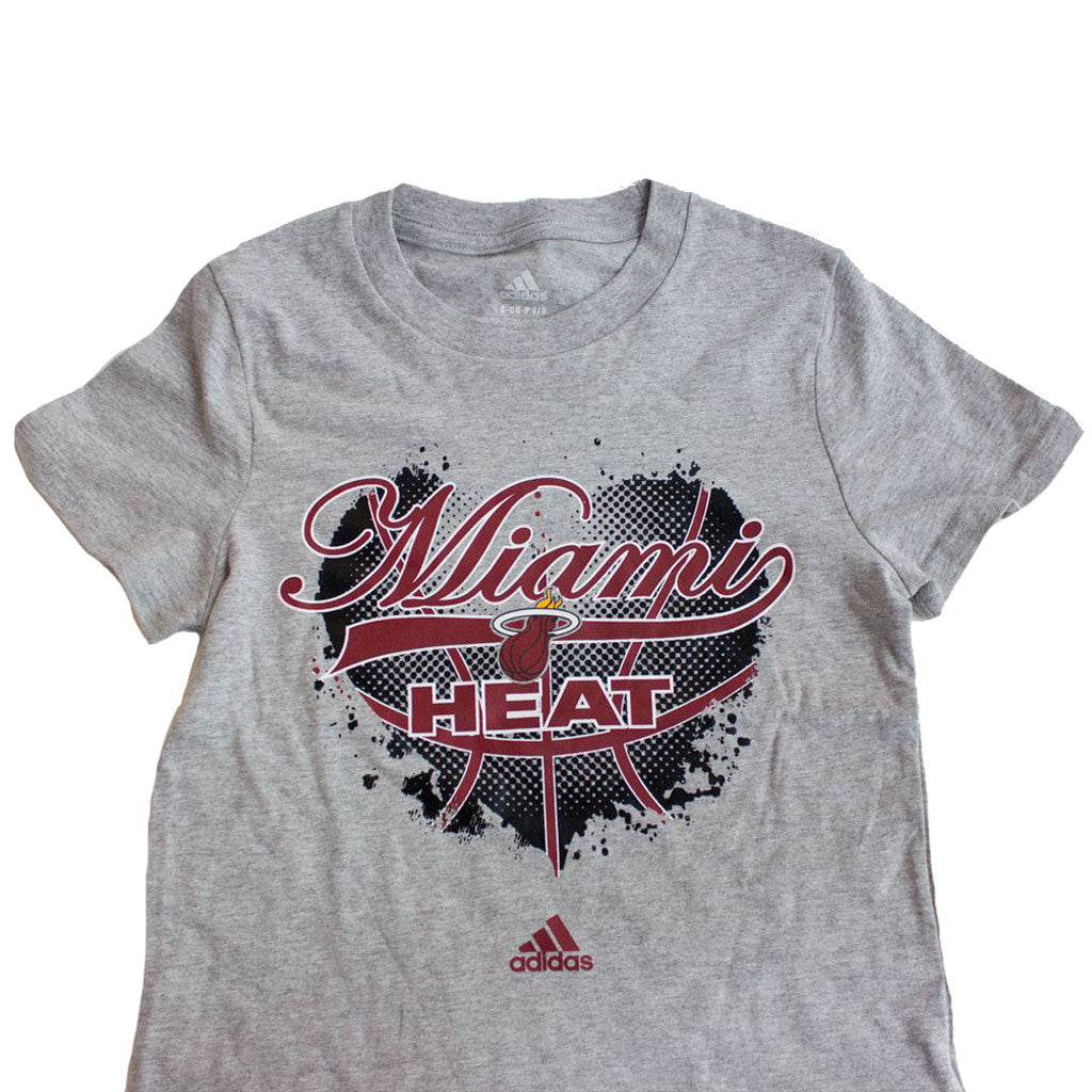 adidas Miami HEAT Girls Basketball Heart T-Shirt - featured image